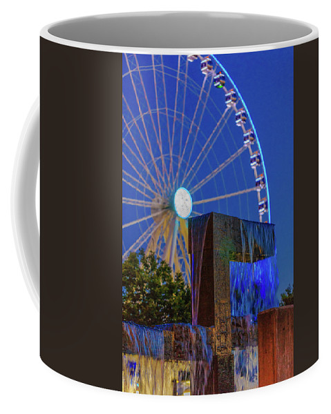 Seattle Coffee Mug featuring the photograph Wealthy At Waterfront Park by Scott Campbell