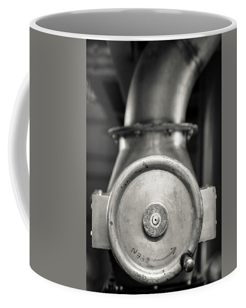 Mono Coffee Mug featuring the photograph Whisky Distillery No14 by Dave Bowman