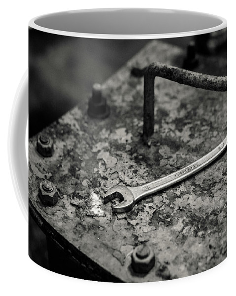 Mono Coffee Mug featuring the photograph Whisky Distillery No6 by Dave Bowman