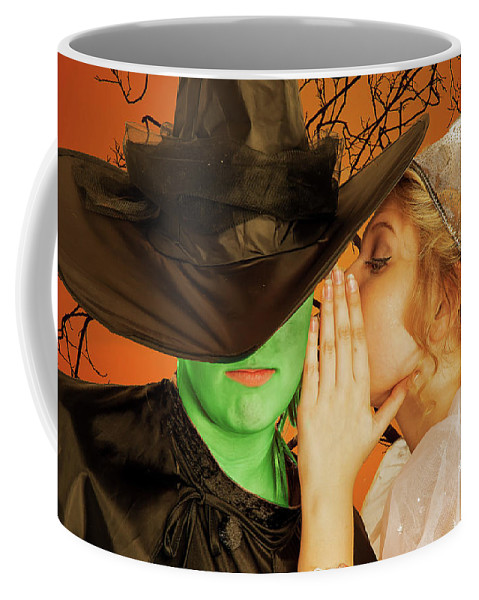 Broadway Coffee Mug featuring the photograph Wicked 2 by Alan D Smith