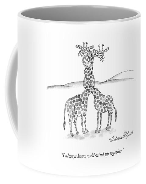Wound Up Together Coffee Mug