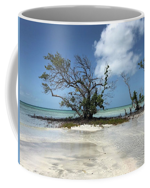 Key West Florida Waters Coffee Mug featuring the photograph Key West Waters by Ashley Turner