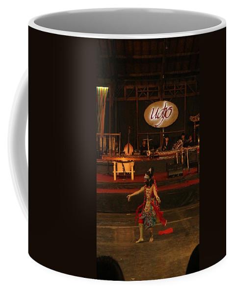 Dance Coffee Mug featuring the photograph Mask Dance by Lingga Tiara Setiadi