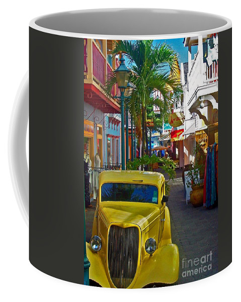 St. Martin Coffee Mug featuring the photograph Nice Ride by Debbi Granruth