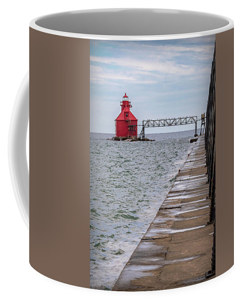Lighthouse Coffee Mug featuring the photograph 20-0607-0038 by Anthony Roma