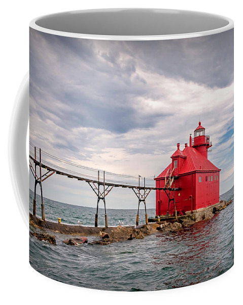 Lighthouse Coffee Mug featuring the photograph 20-0607-0044 by Anthony Roma
