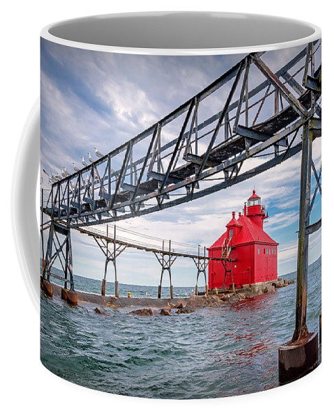 Lighthouse Coffee Mug featuring the photograph 20-0607-0045 by Anthony Roma