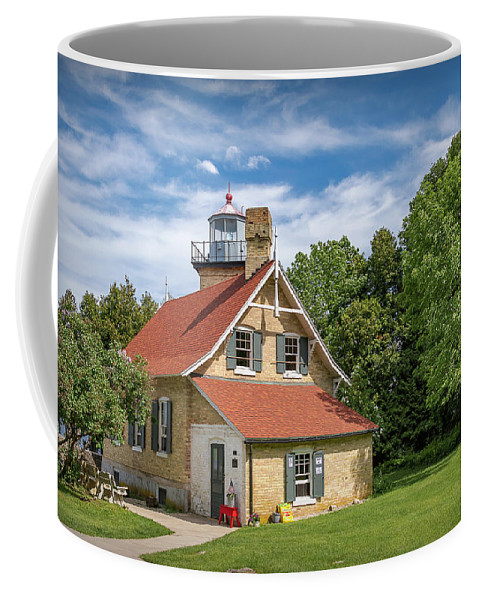 Lighthouse Coffee Mug featuring the photograph 20-0608-0070 by Anthony Roma