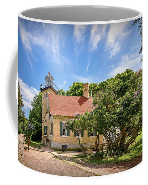 Lighthouse Coffee Mug featuring the photograph 20-0608-0073 by Anthony Roma
