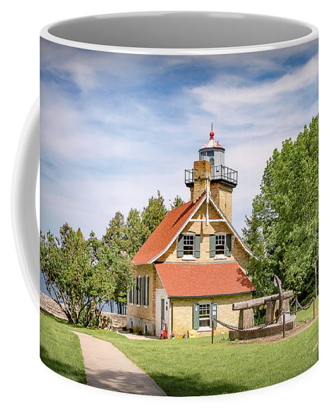 Lighthouse Coffee Mug featuring the photograph 20-0608-0081 by Anthony Roma