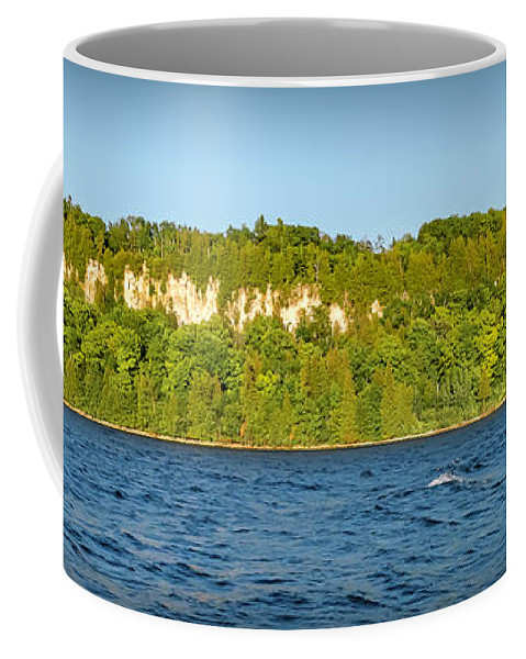 Eagle Coffee Mug featuring the photograph 20-0608-0121 by Anthony Roma