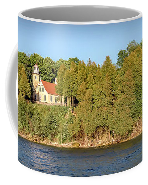 Lighthouse Coffee Mug featuring the photograph 20-0608-0126 by Anthony Roma