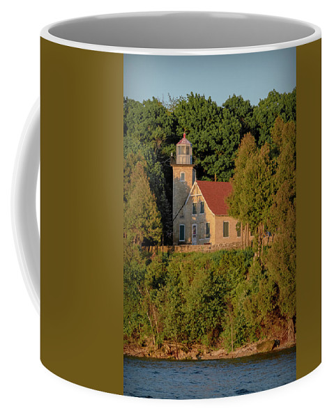 Lighthouse Coffee Mug featuring the photograph 20-0608-0168 by Anthony Roma