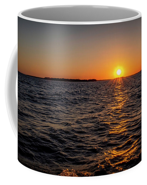 Sunset Coffee Mug featuring the photograph 20-0608-0175 by Anthony Roma