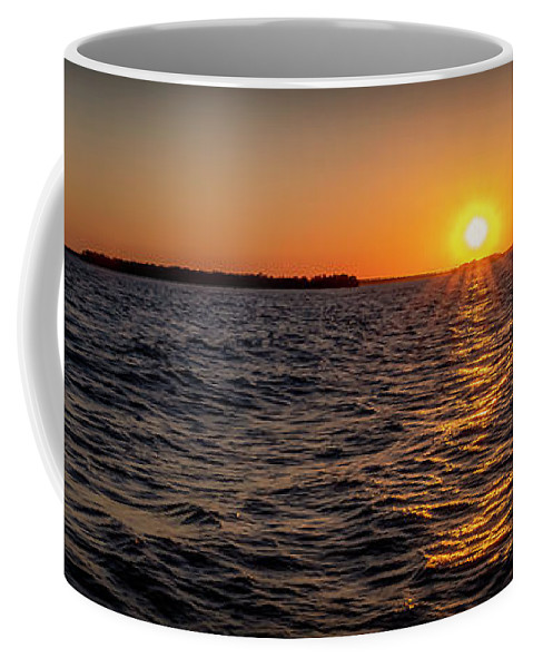 Sunset Coffee Mug featuring the photograph 20-0608-0175 Pan by Anthony Roma