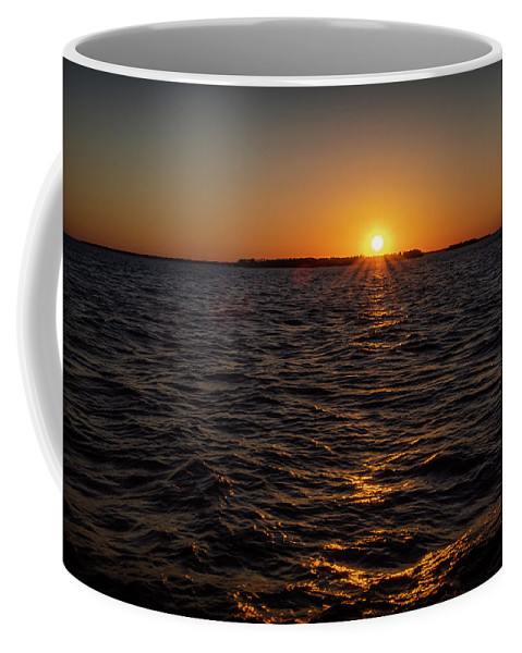Sunset Coffee Mug featuring the photograph 20-0608-0178 by Anthony Roma
