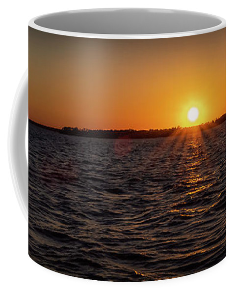 Sunset Coffee Mug featuring the photograph 20-0608-0178 Pan by Anthony Roma