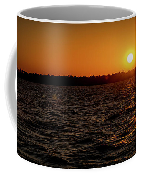 Sunset Coffee Mug featuring the photograph 20-0608-0179 by Anthony Roma
