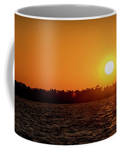 Sunset Coffee Mug featuring the photograph 20-0608-0179 Pan by Anthony Roma