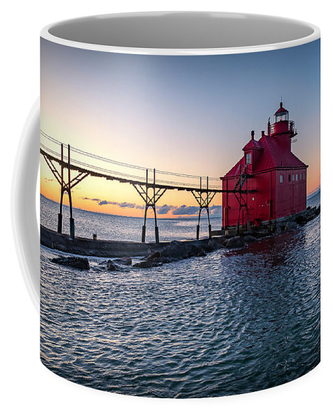 Lighthouse Coffee Mug featuring the photograph 20-0611-0319 by Anthony Roma