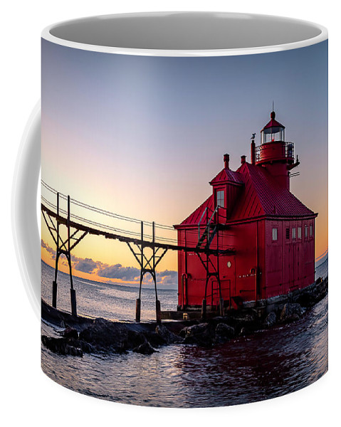 Lighthouse Coffee Mug featuring the photograph 20-0611-0324 by Anthony Roma