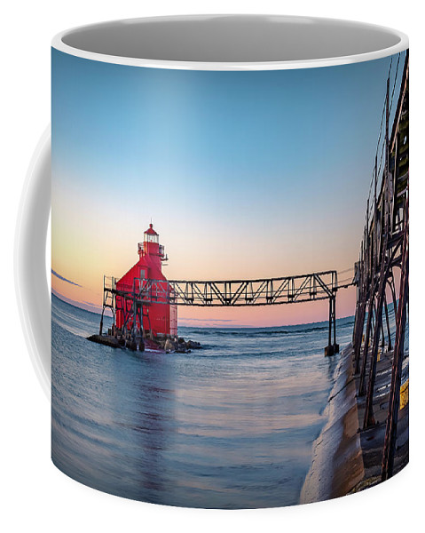 Lighthouse Coffee Mug featuring the photograph 20-0611-0369 by Anthony Roma