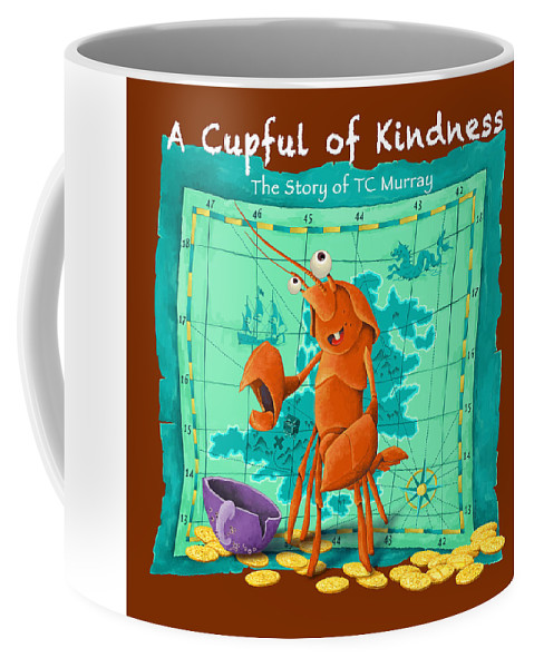 Children's Book Coffee Mug featuring the digital art A Cupful Of Kindness Cover Art by Peter J DeLuca