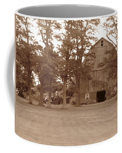 Farm Coffee Mug featuring the photograph A Farmers Life by Rhonda Barrett