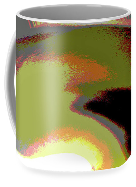 Abstract Coffee Mug featuring the photograph A New Sun by Holly Morris