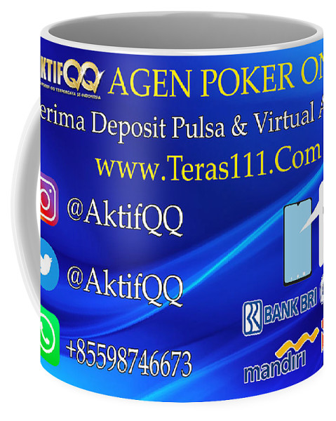 Agen Poker Online Terima Deposit Pulsa Dan Virtual Account Coffee Mug For Sale By Aktifqq