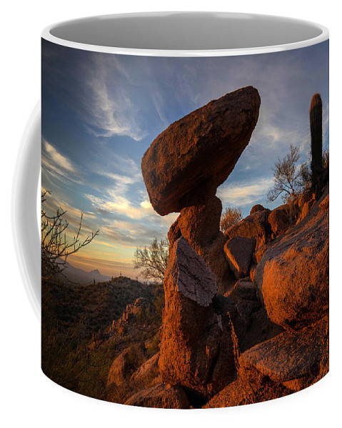 Photography Coffee Mug featuring the photograph Ancient Ones by Kati Astraeir