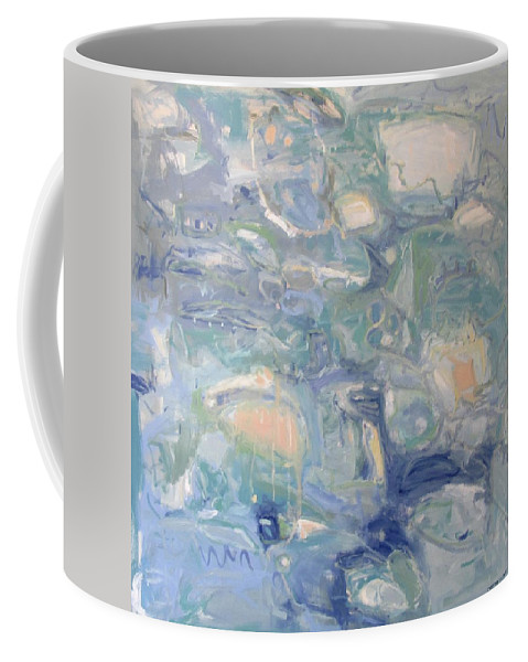 Ariels World Coffee Mug featuring the painting Ariels World by Chris Gholson