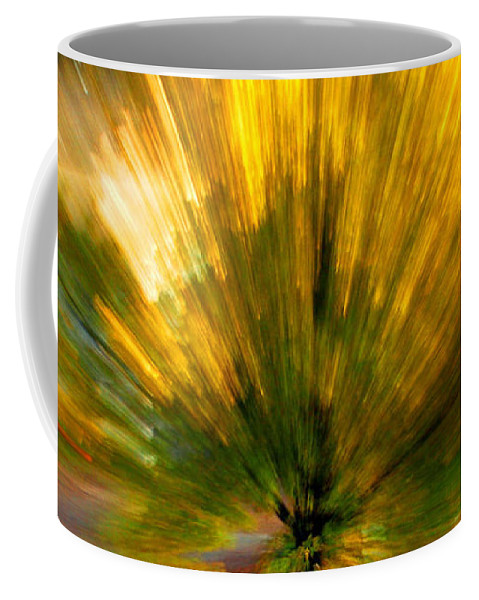 Nature Coffee Mug featuring the photograph Color explosion by Linda Sannuti