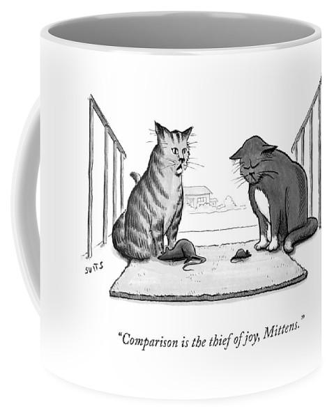 Comparison is the Thief of Joy Coffee Mug
