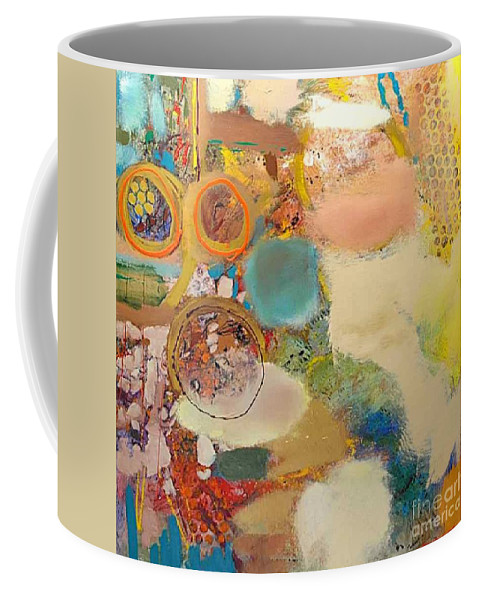 Landscape Coffee Mug featuring the painting Concertion for Horn in D by Allan P Friedlander