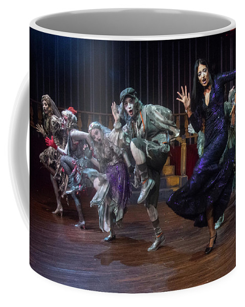 Adams Family Coffee Mug featuring the photograph Dance With The Relatives by Alan D Smith