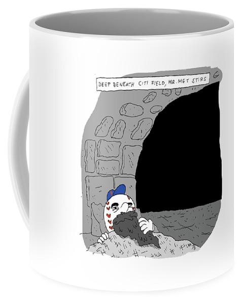 Deep Beneath Citi Field Coffee Mug