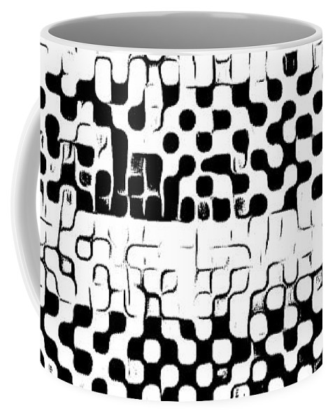 Art Coffee Mug featuring the digital art Details by Andrew Johnson
