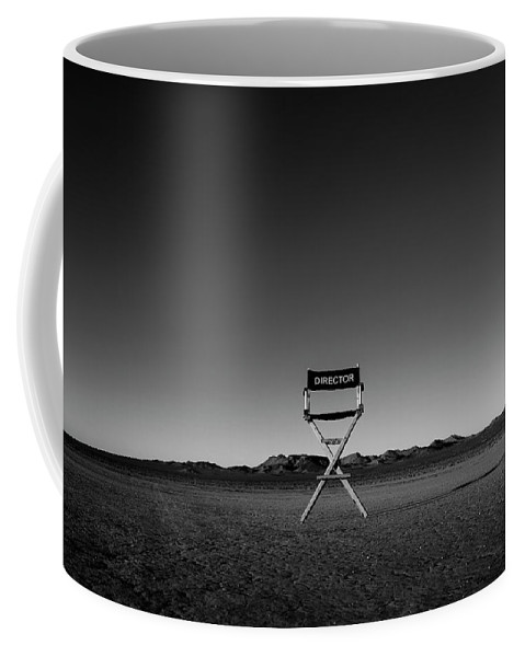 Coffee Mug featuring the photograph Director's Cut by Brendan North