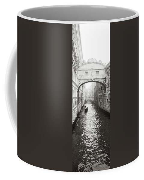 Bridge Coffee Mug featuring the photograph Dsc3692 - The Bridge Of Sighs, Venice by Marco Missiaja