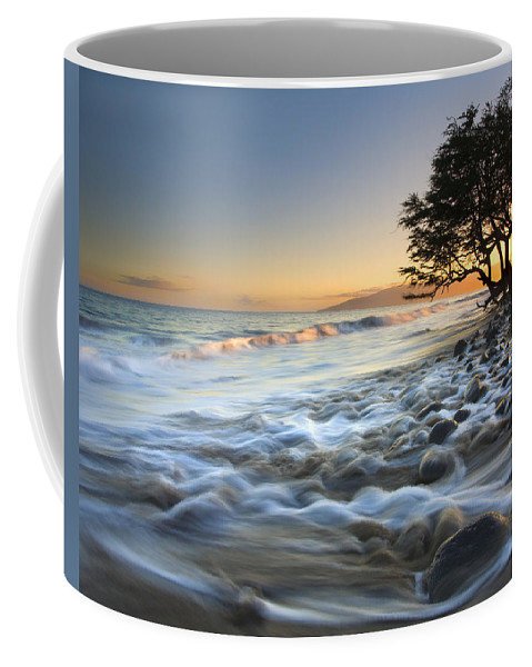 Sea Coffee Mug featuring the photograph Ebb and Flow by Mike Dawson