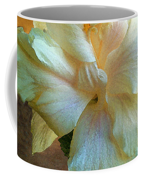 Hawaiian Flowers Coffee Mug featuring the photograph Evening Hibiscus by James Temple