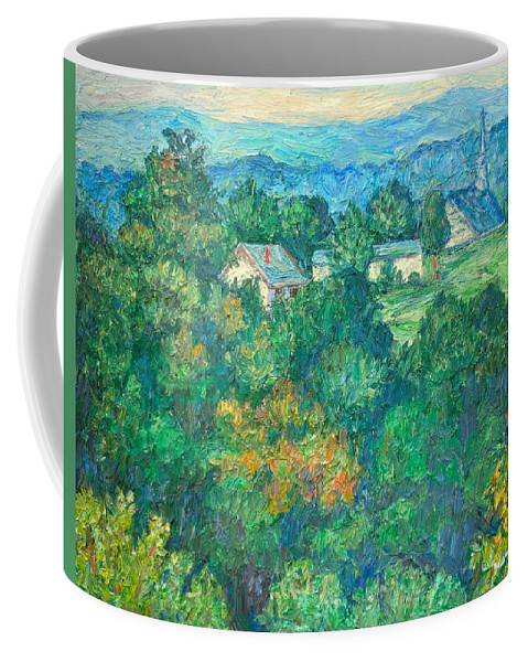 Kendall Kessler Coffee Mug featuring the painting Fairlawn Ridge by Kendall Kessler