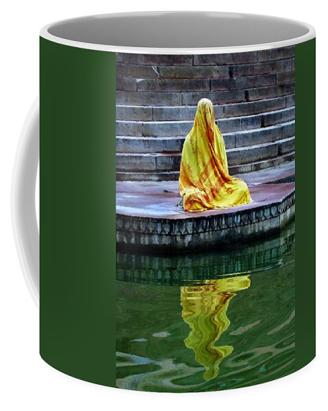 Meditate Coffee Mug featuring the photograph Ganga Dream by Skip Hunt
