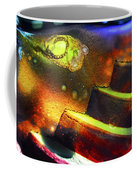 Abstract Coffee Mug featuring the photograph Heart of Glass by Skip Hunt
