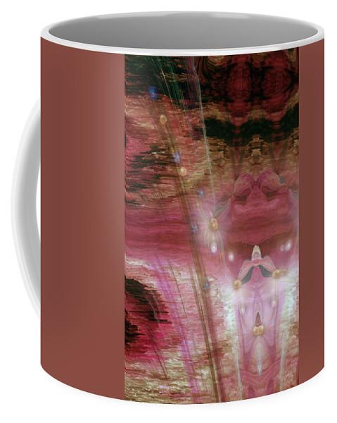 Illustions Coffee Mug featuring the digital art Illusions by Linda Sannuti