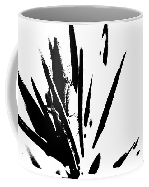 Abstract Coffee Mug featuring the photograph In Black And White by Holly Morris
