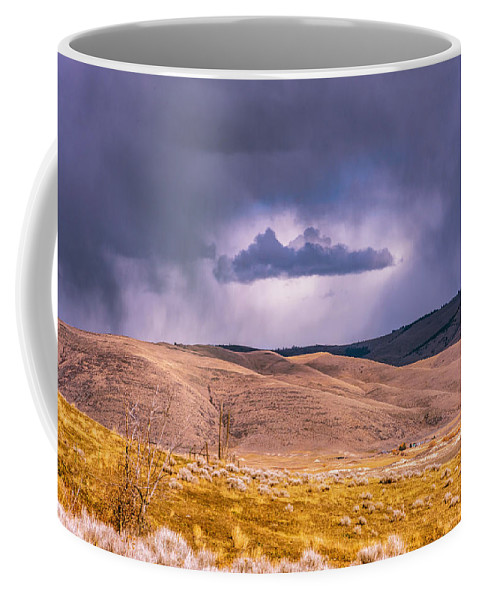 Little Bitterroot Valley Coffee Mug featuring the photograph Is That Cloud Holy? by Bryan Spellman