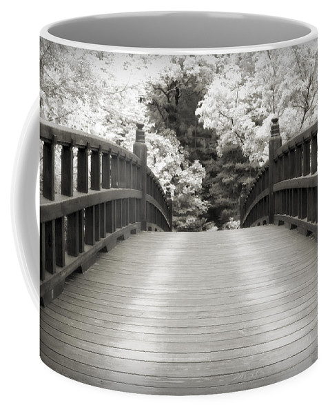 3scape Coffee Mug featuring the photograph Japanese Dream Infrared by Adam Romanowicz
