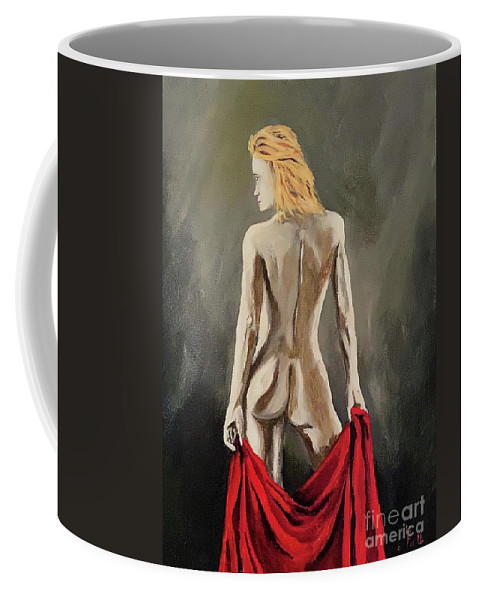 Nuds Midnight Coffee Mug featuring the painting Just after Midnight by Herschel Fall